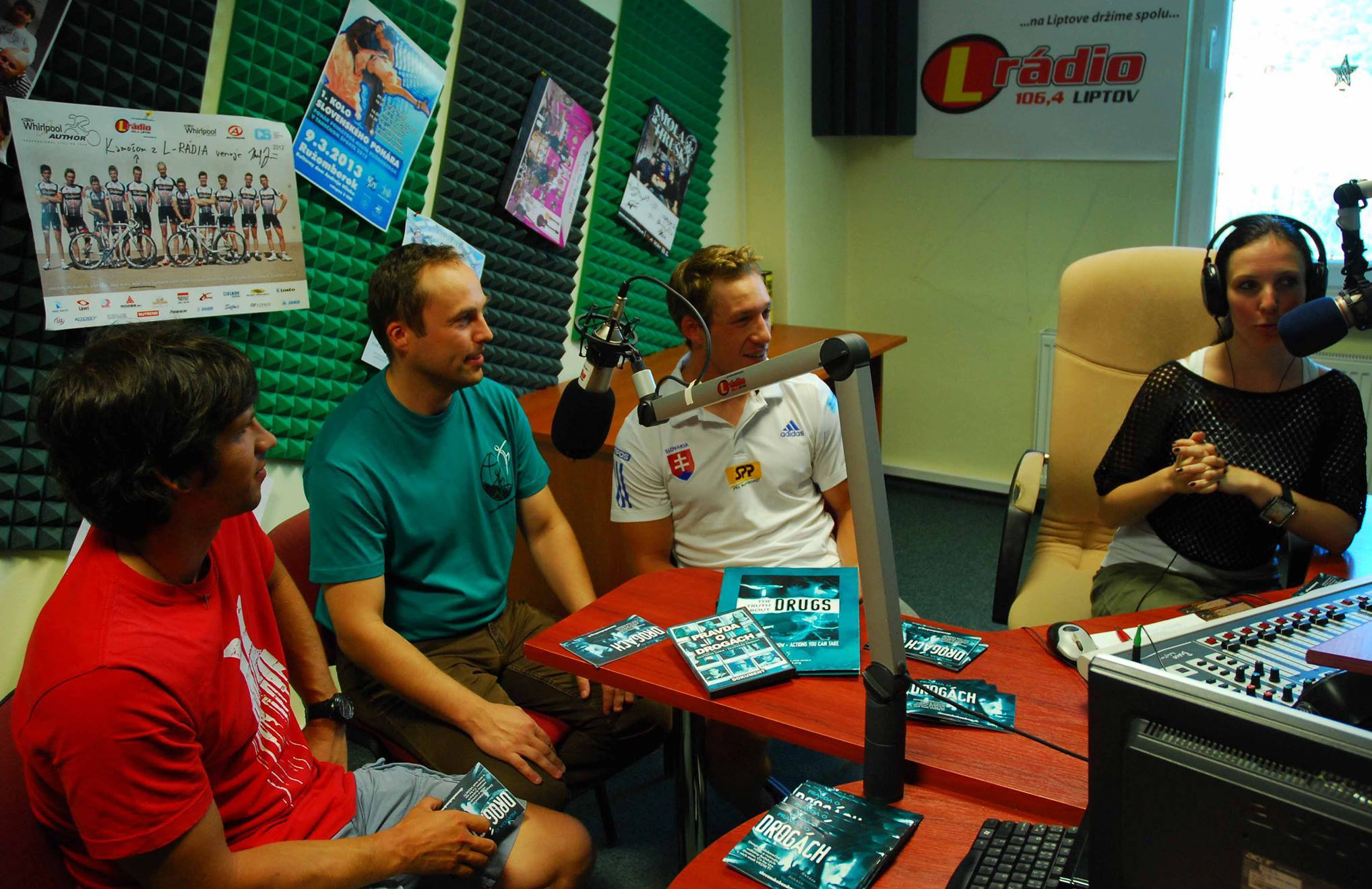 Ja a vodní slalomári Alexander Slavkovský a Martin Halčin - rozhovor v L-rádiu